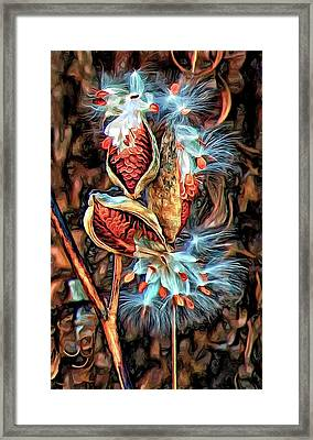 Lord Of The Dance - Paint Framed Print by Steve Harrington