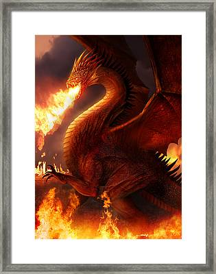 Lord Of The Dragons Framed Print