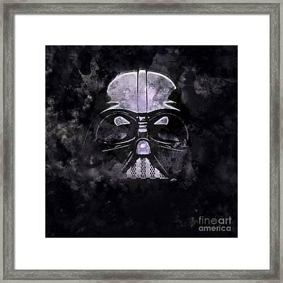 Lord Vader  Framed Print by Jon Neidert