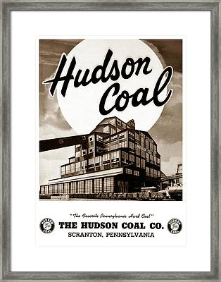 Loree Colliery Larksville Pa. Hudson Coal Co  Framed Print