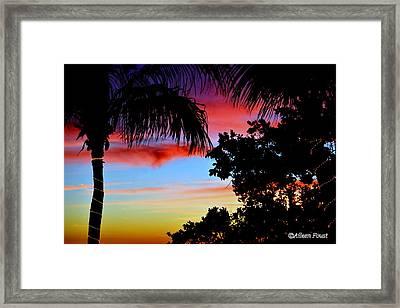 Lorelei In Pastel  Framed Print by Aileen Foust