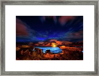 Lorelei's Dream Framed Print by Mark Andrew Thomas