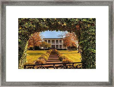 Loretta Lynn Home Framed Print by Douglas Barnett