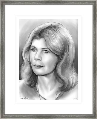 Loretta Swit Framed Print