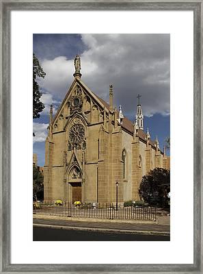 Loretto Chapel - Santa Fe Framed Print by Mike McGlothlen