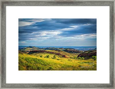 Lory State Park Framed Print by Jon Burch Photography