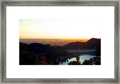 Los Angeles 2 Framed Print by Jera Sky