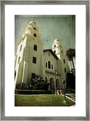 Beverly Hills Church Framed Print by Scott Pellegrin