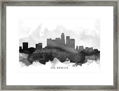 Los Angeles Cityscape 11 Framed Print