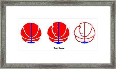 Los Angeles Clippers Logo Redesign Contest Framed Print by Tamir Barkan