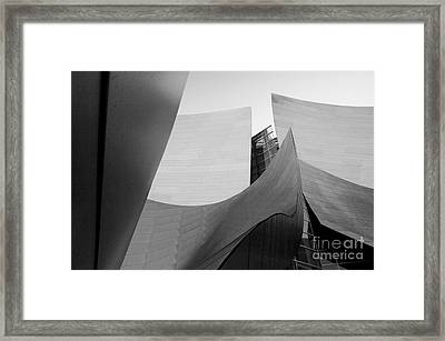 Los Angeles Disney Concert Hall 30 Framed Print by Micah May
