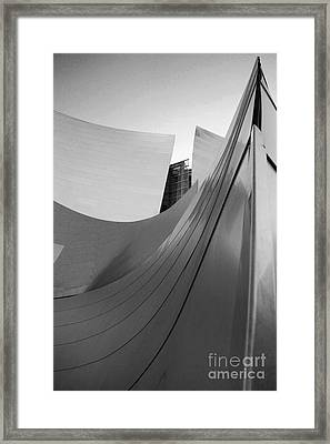 Los Angeles Disney Concert Hall 31 Framed Print by Micah May