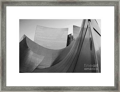 Los Angeles Disney Concert Hall 32 Framed Print by Micah May