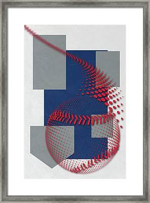 Los Angeles Dodgers Art Framed Print