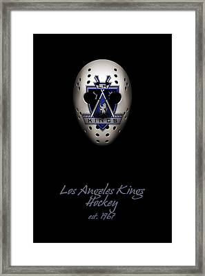 Los Angeles Kings Established Framed Print by Joe Hamilton
