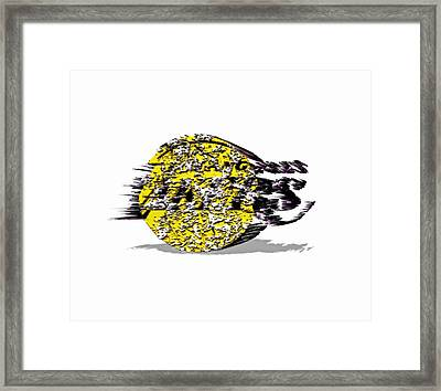 Los Angeles Lakers 6a Framed Print by Brian Reaves
