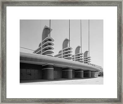 Los Angeles, Pan Pacific Auditorium Framed Print by Everett