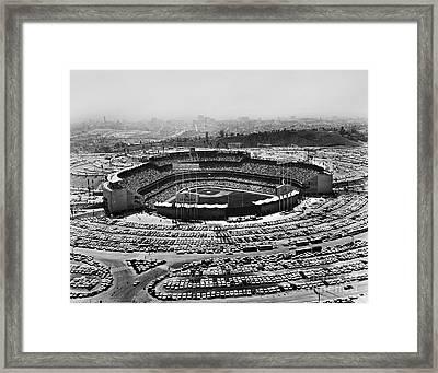 Los Angeles: Stadium, 1962 Framed Print by Granger