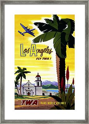 Los Angeles Twa Framed Print