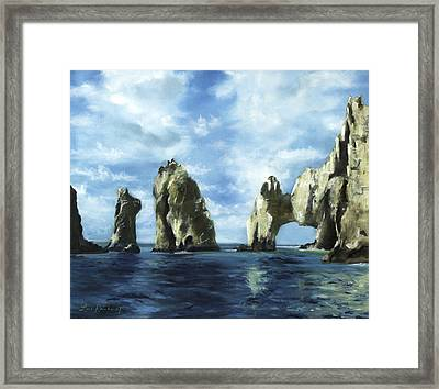 Los Arcos Framed Print by Lisa Reinhardt