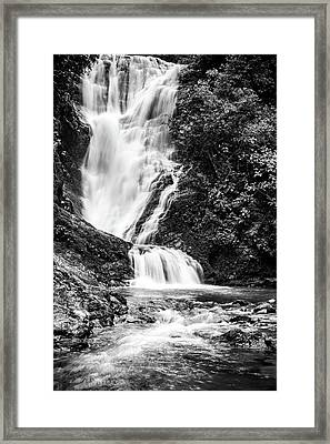 Los Campesinos Waterfall Bw Framed Print