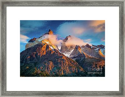 Los Cuernos Framed Print by Inge Johnsson
