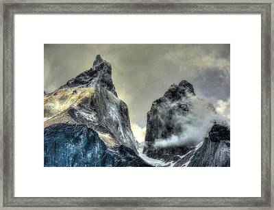 Los Cuernos-the Horns Framed Print