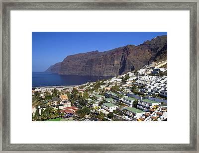 Los Gigantes In Tenerife Framed Print