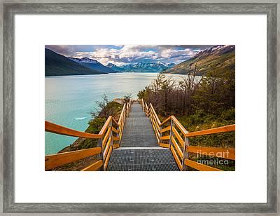 Los Glaciares Framed Print