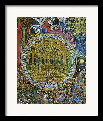 Pablo Amaringo Reproductions Framed Prints