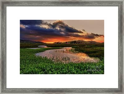 Los Osos Valley Framed Print
