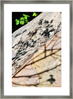 Framed Print featuring the photograph Los Padres Stone by Kyle Hanson