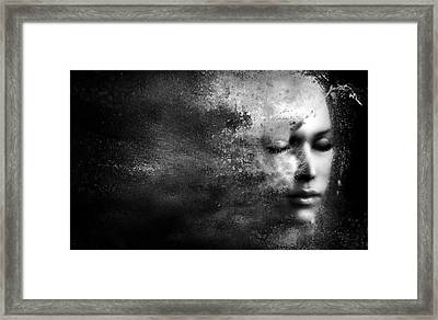 Losing Myself Framed Print