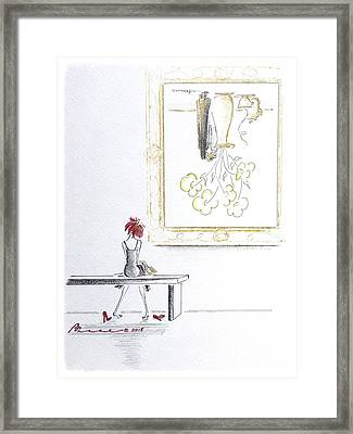 Losing Perspective Framed Print by Barbara Chase