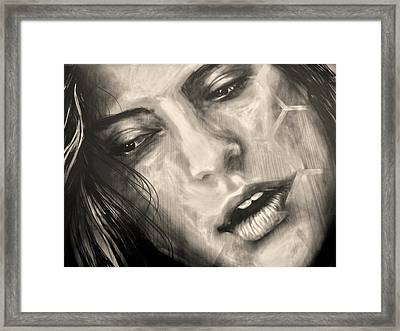 Losing Sleep ... Framed Print by Juergen Weiss