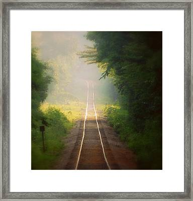 Losing Track Of Time Framed Print