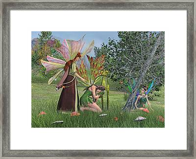 Loss And Lost  Framed Print