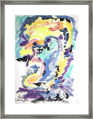 Loss Of Consciousness Framed Print by Esther Newman-Cohen