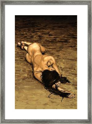 Loss Framed Print by Richard Young
