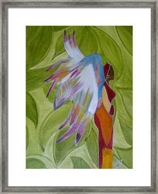 Lost Angel Framed Print by Elizabeth Ribet