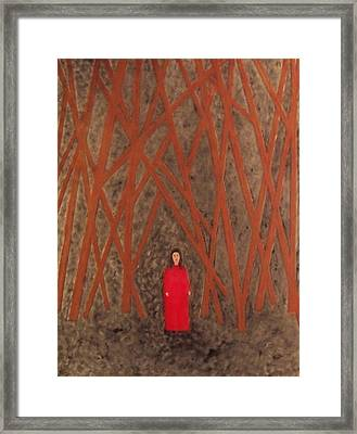 Lost Framed Print by Anneliese Fritts