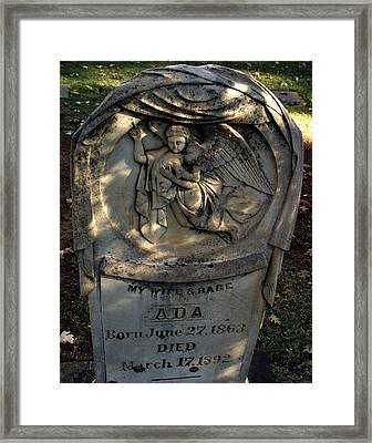 Lost At Birth Framed Print