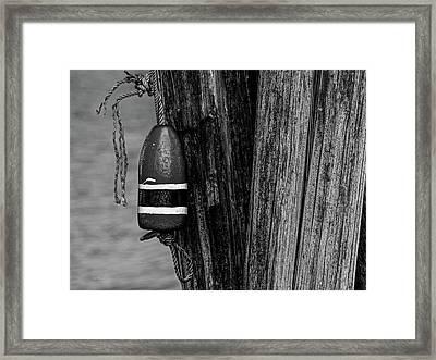 Lost Bouy Framed Print