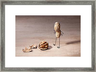 Lost Brains 01 Framed Print by Nailia Schwarz