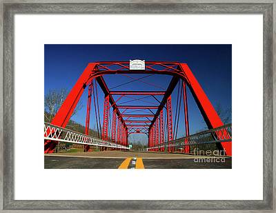 Lost Bridge Framed Print