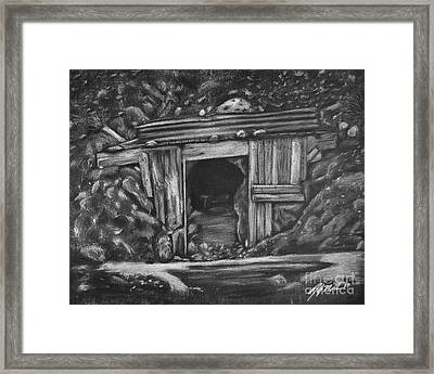 Lost Burro Mine Death Valley Framed Print