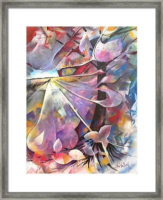 Lost Butterflys Framed Print