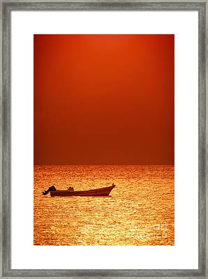 Lost Framed Print by Charles Dobbs