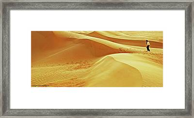 Lost Framed Print by Chaza Abou El Khair