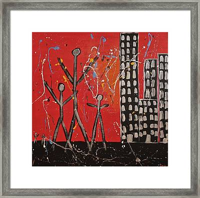 Lost Cities 13-001 Framed Print